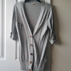 Fossil cardigan sweater